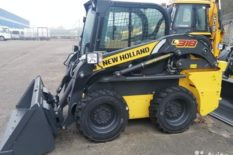 Мини-погрузчик New Holland L318